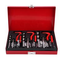 88 Pcs Car Engine Block Restoring Damaged Thread Repair Tool Kit Set M6 M8 M10