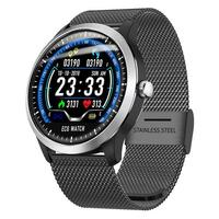 N58 Smart Watch Sports Bracelet PPG ECG HRV Report Heart Rate Blood Pressure Test IP67 Support Counting Step Calories Sleep Time