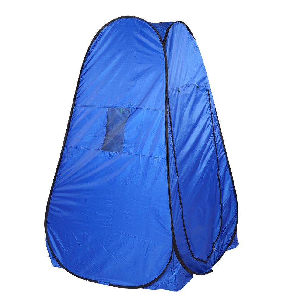 Foldable Tent Outdoor Shower Tent Beach Privacy Toilet Changing Room Camping Hiking Multi function Tent 195x100x100cm-in Tents from Sports & Entertainment    2