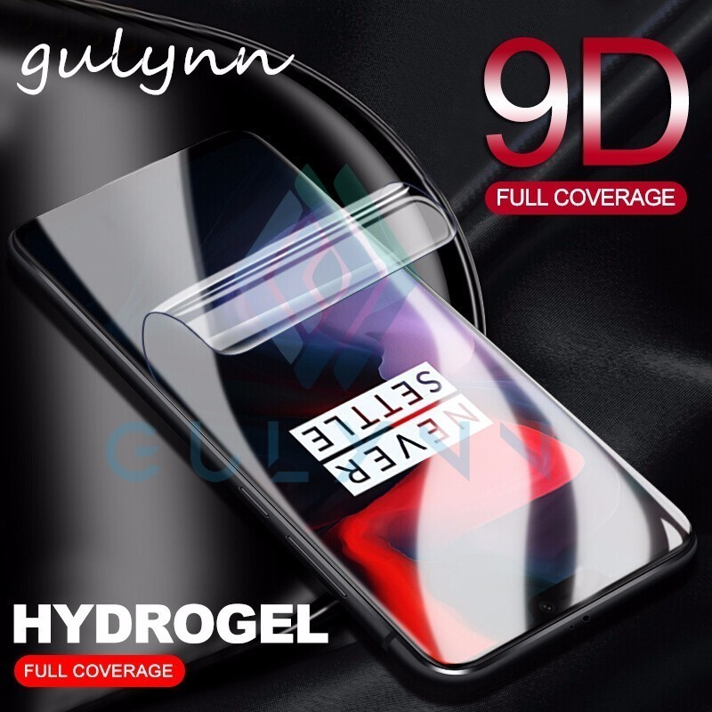 New 8D Full Cover Soft Hydrogel Film For Oneplus 5T 5 Screen Protector One Plus 6 6T 7 7T  (Not Tempered Glass) HD