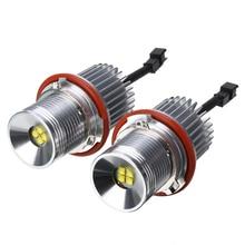 Mayitr 2Pcs/set 40W LED 12-30V Angel Eyes Marker Light Bulb Error Free Front Bulb For BMW  E39 E60 E87 E61 E63 E64 E65 E66 E83 цена