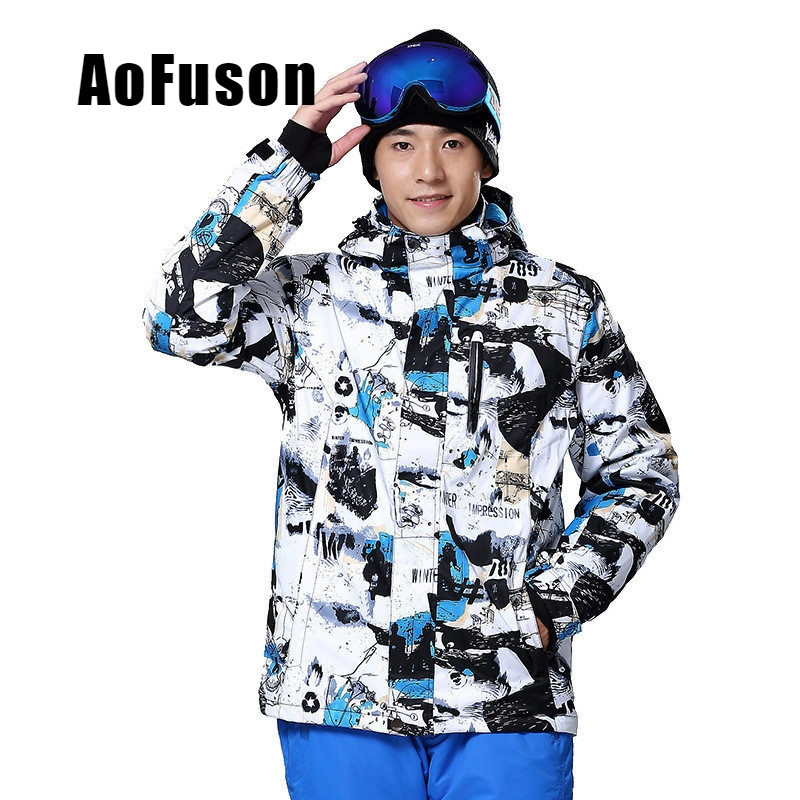 Professional Ski Snowboard Jacket Snow Windproof Waterproof Warm Hiking Clothes Coat Breathable Snowboarding Hooded Jacket MenProfessional Ski Snowboard Jacket Snow Windproof Waterproof Warm Hiking Clothes Coat Breathable Snowboarding Hooded Jacket Men