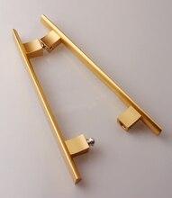 Glass door handle,wooden door handle,Aluminum handle(D-502) цена
