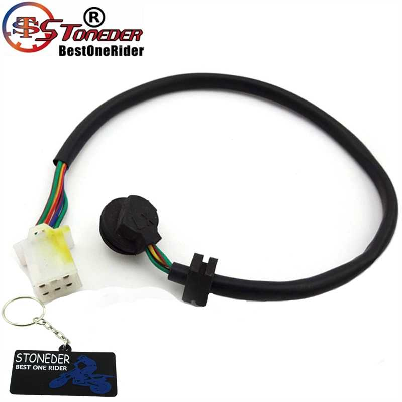 STONEDER 5 Wire Pins Gear Position Sensor Switch Transmission Indicator For  Chinese ATV Go Kart Quad Motorcycle Dirt Pit Bike