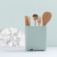 Casa cocina vajilla escurridor palillos cuchara tenedor caja de  almacenamiento cubiertos desmontable escurridor colador(China 3614c2fa092c