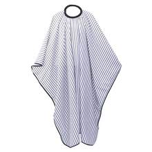 1PC Stripe Design Apron Unisex Classic Vintage Hair Stylist Apron Barber Cape Haircut Cape for Home Barber Shop Salon(China)