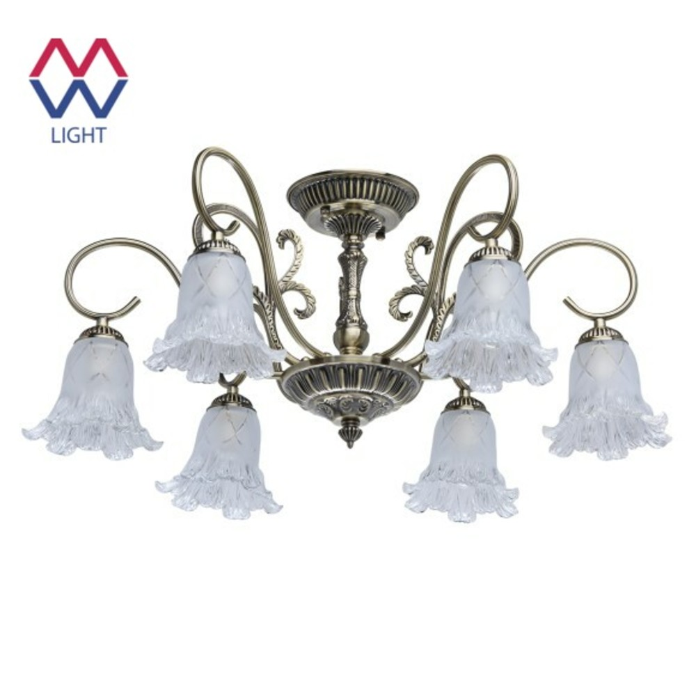 купить Chandeliers Mw-light 372011906 ceiling chandelier for living room to the bedroom indoor lighting по цене 14120 рублей