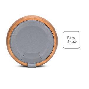 Image 3 - Reproductor de madera portátil inalámbrico Bluetooth altavoz innovador regalo estéreo Hd sonido música Surround dispositivos tipo colgante ordenador