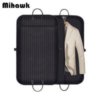 Mihawk Business Travel Bag Men Suit Storage Pouch Dustproof Hanger Organizer Coat Clothes Garment Cover Luggage Carry on Handbag