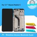 """5.7 """"Original M & Sen Für Xiaomi Redmi 5 LCD Screen Display Mit Rahmen + Touch Panel Digitizer Montage für Redmi 5 Display-in Handy-LCDs aus Handys & Telekommunikation bei"""