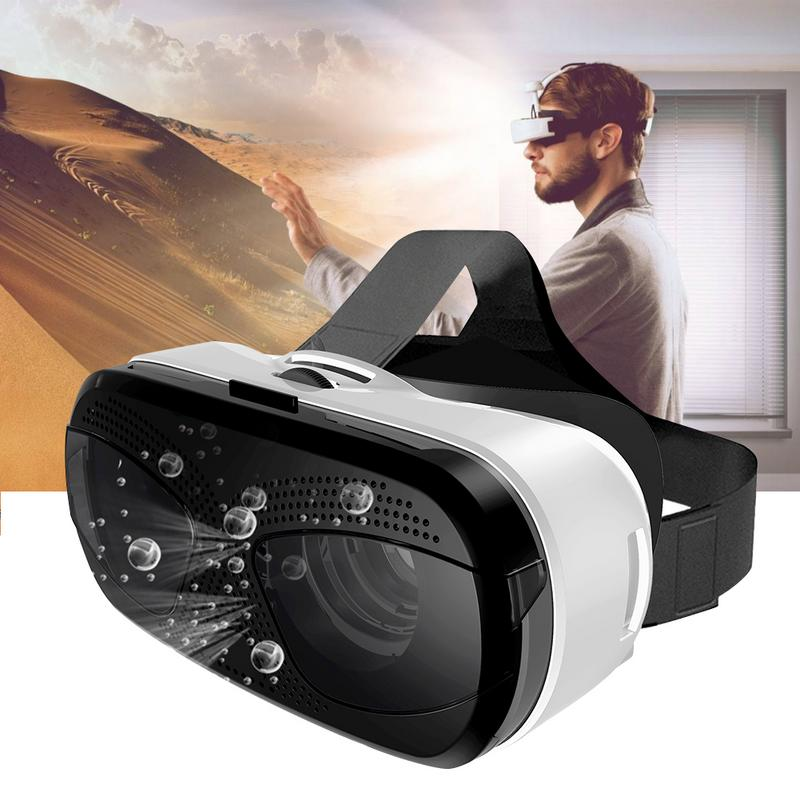 VR Glasses Cardboard Eye Protection HD Virtual Reality 6-fold Magnification For 3.5-6.0 Inch Screen Phone 3d VR