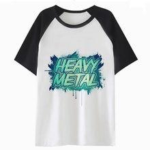 Camiseta de metal pesado harajuku para camiseta divertida camiseta para  hombre streetwear top ropa hip hop hombres tee C4397 44669e17eb9