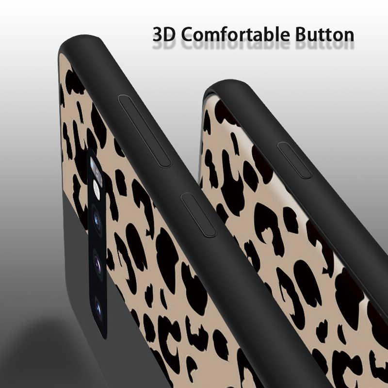 Lovebay чехол для телефона для samsung Galaxy S8 S9 S10 Plus S10 Lite Note 8 9 модный Леопардовый принт Мягкий Силиконовый ТПУ для S10 чехол для телефона