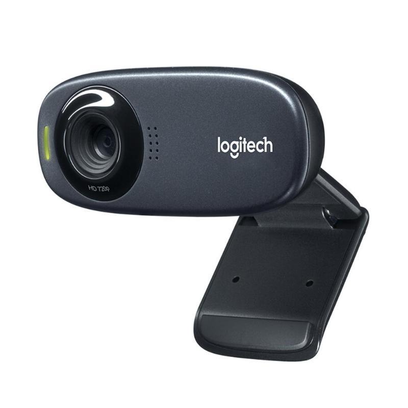 Logitech C310 Webcam 720 p 30fps HD USB 2.0 caméra Web filaire conférence en direct caméras d'appel vidéo avec un Clip de montage universel