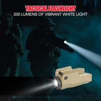 Mini Light QD Quick Detach Handgun Flashlight LED Torch Hunting Accessories Mini Light for Outdoor activities Outdoor equipment