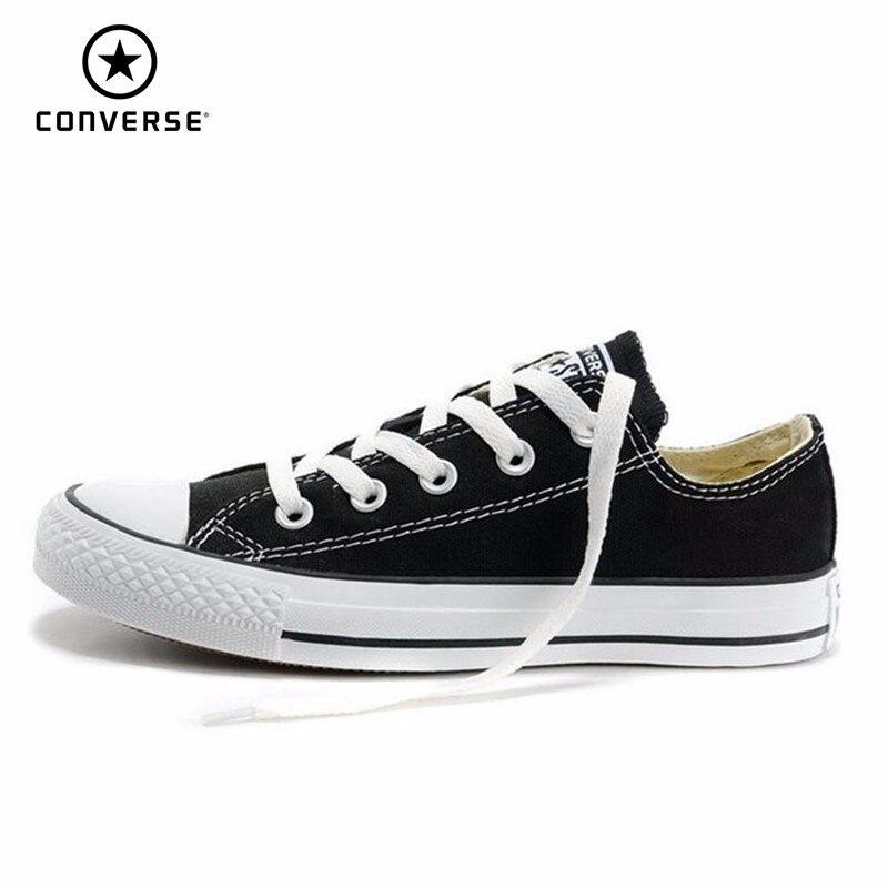 Converse hommes et femmes chaussures de skate plein air classique toile décontracté unisexe Anti-glissant baskets #102329