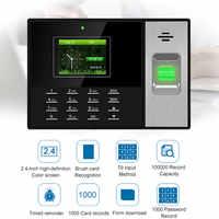 Eseye Sistema di Presenza di Tempo TCPIP Time Clock Recorder Dispositivo di Riconoscimento Dei Dipendenti Elettronico Macchina di Presenza di Impronte Digitali