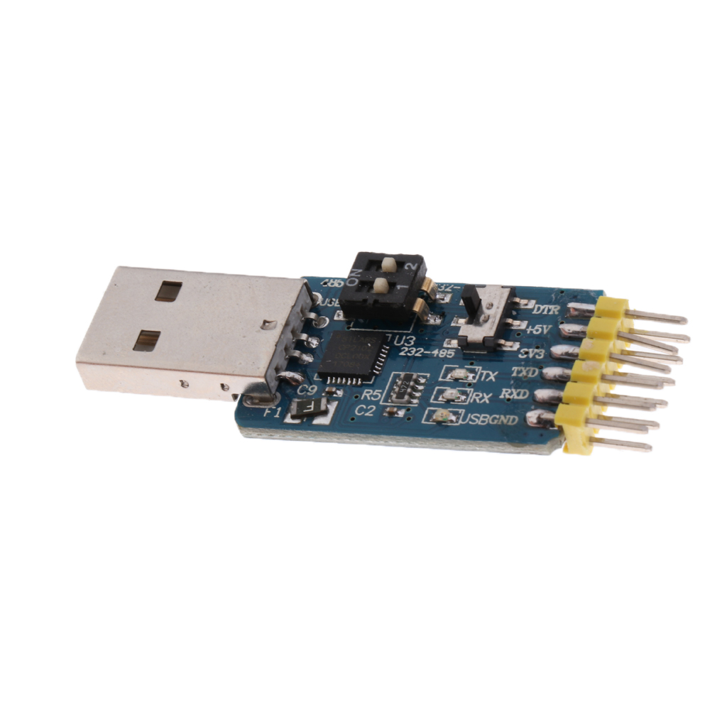 6 in 1 CP2102 Serial Module USB to TTL//RS232//RS485 TTL to RS232//RS485 ASS