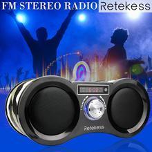 RETEKESS V113 Camouflage Digital Stereo FM Radio USB TF Card Speaker MP3 Music Player With Remote Control Receiver Radio цена и фото