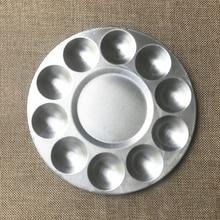 Round Aluminum Palette