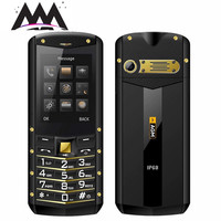 AGM M2 Russian keyboard mobile phone IP68 Waterproof Shockproof Dual SIM FM flashlight 1970mAh cell phones