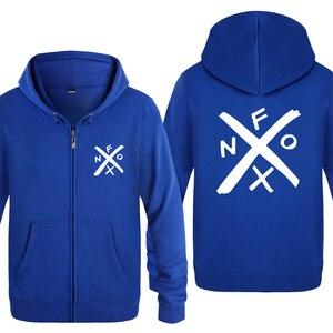 Image 5 - NOFX Music Novelty Sweatshirts Men 2018 Mens Zipper Hooded Fleece Hoodies Cardigans