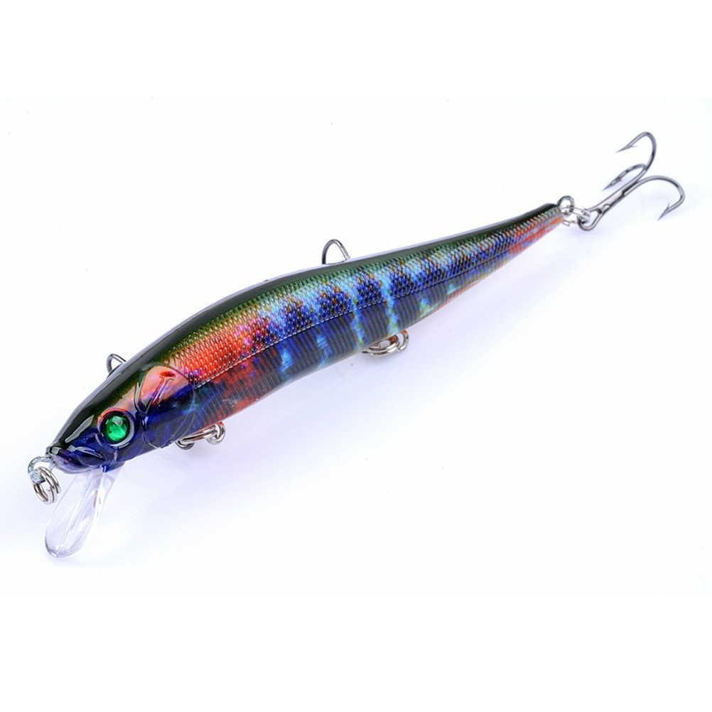 4 шт Окрашенные Пластиковые наживки рыболовные блесны окрашенные серии бионические приманки из твердого пластика, как в жизни, Swimbait (набор из 4 цветов)