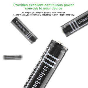 Image 5 - 3.7V 6000Mah 18650 Li Ion Rechargeable Polymer Lithium Battery For Flashlight
