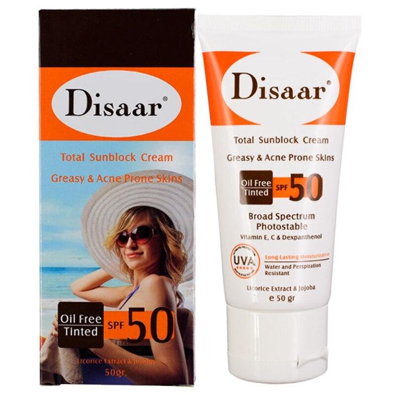 Disaar Bb Cream Concealer Foundation Effect Sunscreen Spf50 Pa++Concealer Moisturizing Anti-Wrinkle Hydration Facial Sunscreen