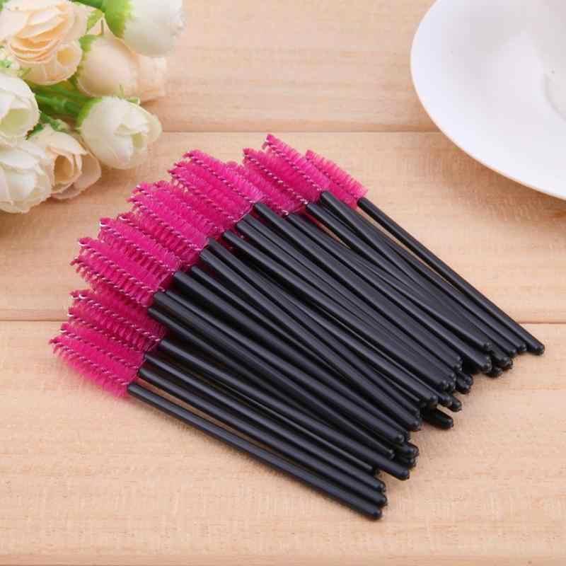 50/100/15 Pcs Bulu Mata Brushes Sekali Pakai Mascara ONE-On-One Makeup Aplikator Bulu Mata Alat Make Up Mini kosmetik Bulu Mata Brushes