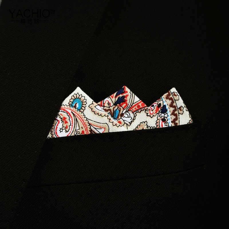 Пейсли мужской, карманный, квадратный хлопок лен Малый квадратный носовой платок большой цветочный сетки пять звезд полосатый Вечерние