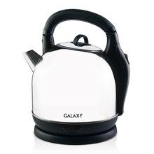 Чайник электрический Galaxy GL 0306 (Мощность 2200 Вт, объем 3.6 л, нержавеющая сталь, термоизолированный корпус, отсек для хранения шнура, вращение 360°)