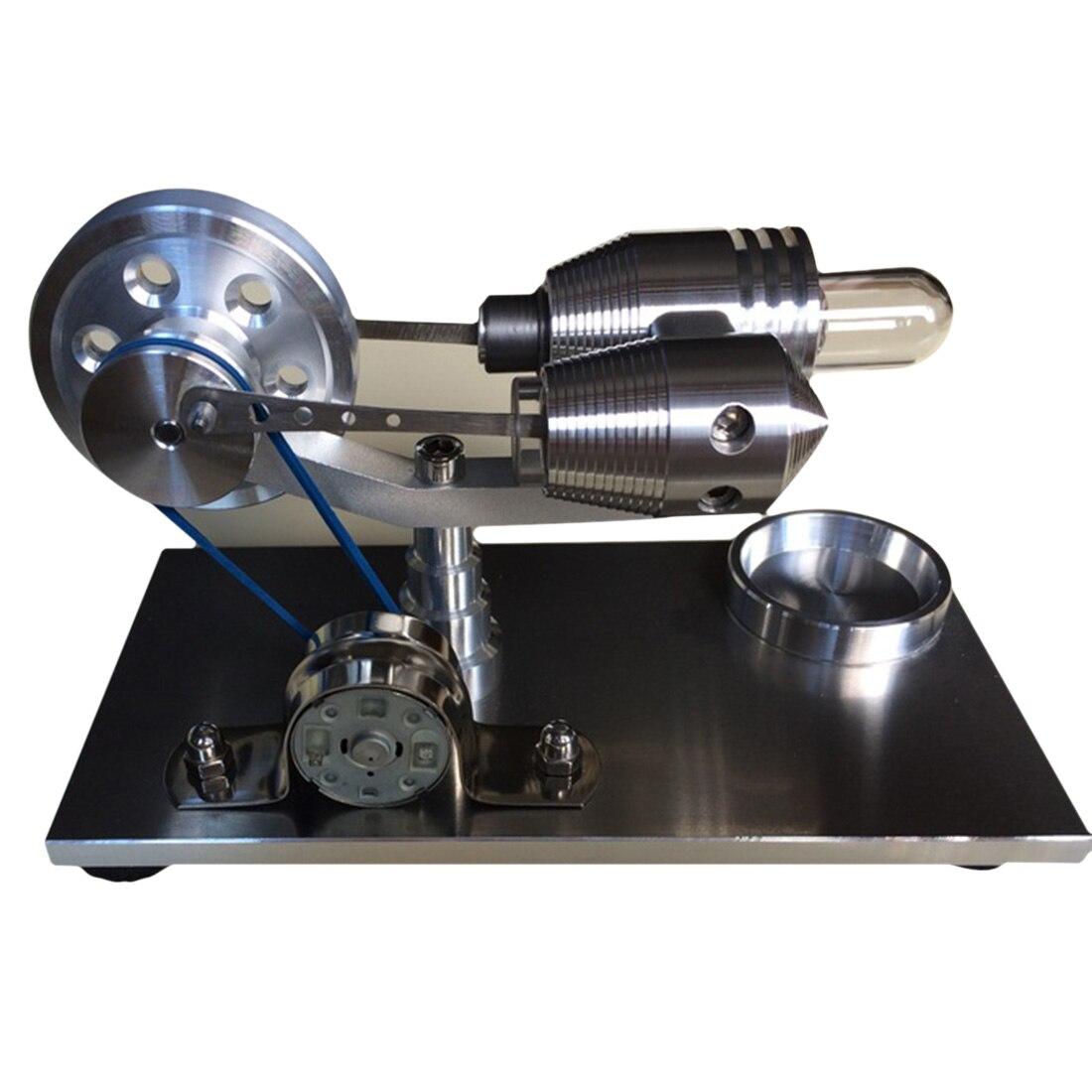 Equilibrio Stirling Esterno STELO A Vapore Motore A Combustione Maggiore Educazione Modello FAI DA TE GiocattoliEquilibrio Stirling Esterno STELO A Vapore Motore A Combustione Maggiore Educazione Modello FAI DA TE Giocattoli