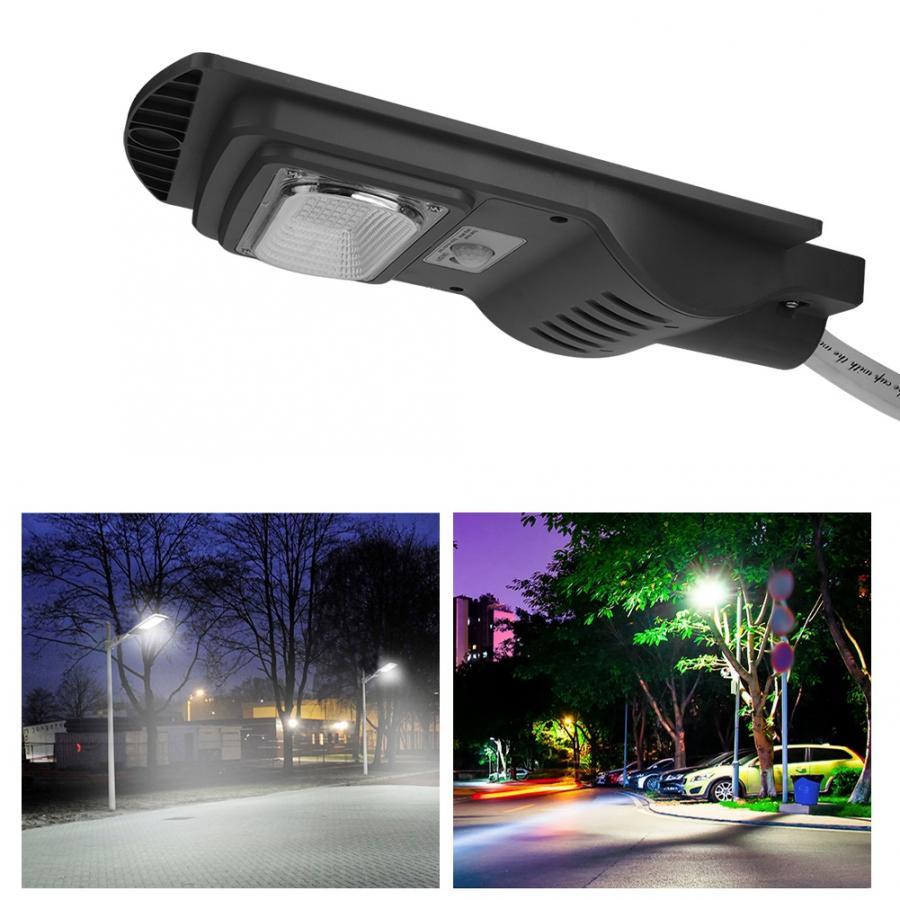 Room Stairway 48W LED Solar Powered Wall Light Human Body Motion Radar Sensor Garden Gate Street