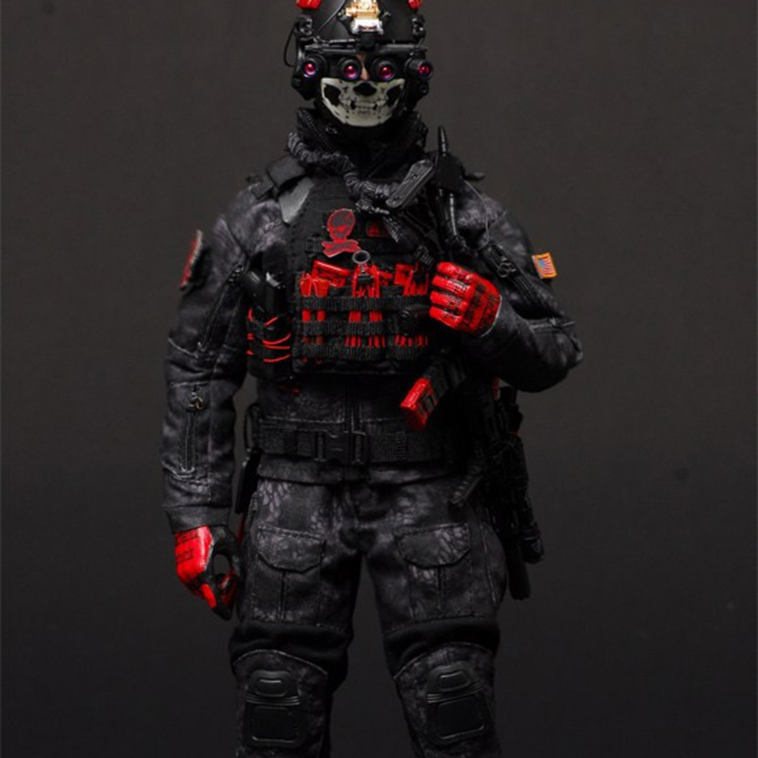 """VERYHOT VH 1050 Black ZERT THE LAST 1//6 Military Sets Fit 12/"""" Male Figures"""
