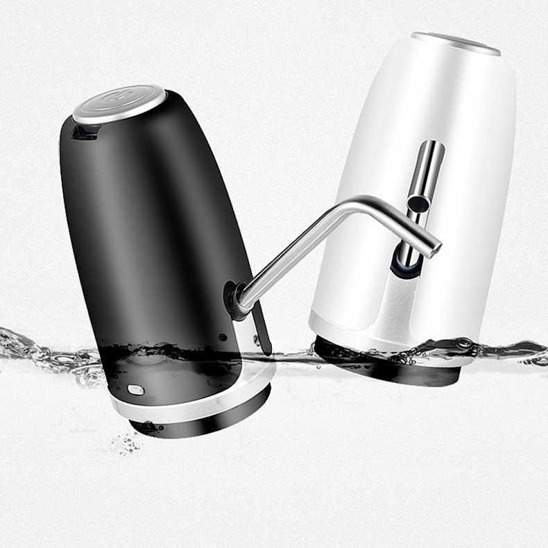 USB зарядка портативный Электрический напиток диспенсер для бутылочного насоса (подходит для большинства 2-5 галлонов бутылки для воды [1200 мАч питание от аккумулятора])