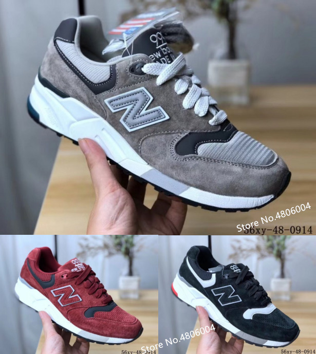brand new 649c9 cc175 US $66.42 22% OFF|2019 original New Balance 999 Men Running shoes NB999  women Sneakers ABSS cushioning separation combination MD outsole 3 color-in  ...