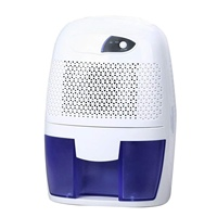 Hot sale Mini Dehumidifier For Bathroom Bedroom  Closet  Basement Ultra Quiet (White)(Us Plug ) Dehumidifiers     -