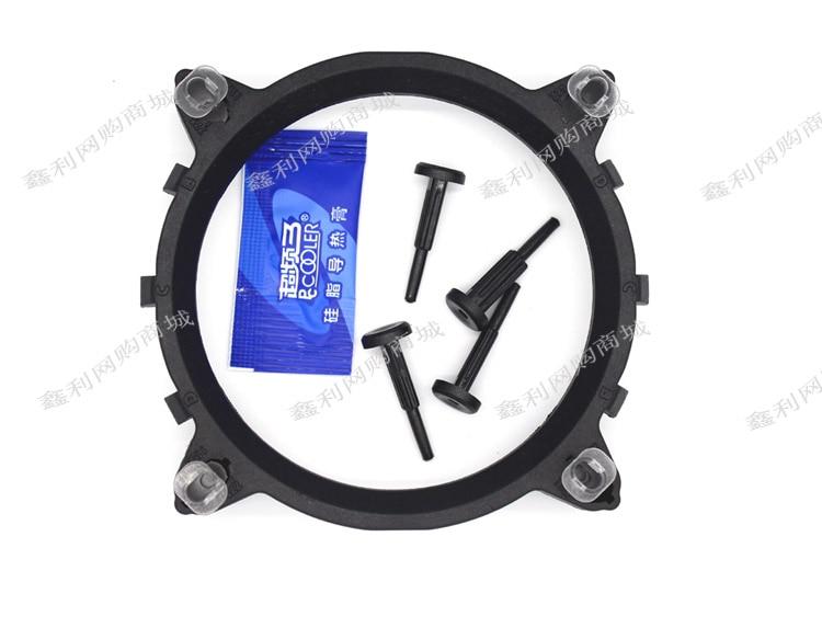 Original Overlocking 3 CPU Radiator Chassis Fan Socket Base For LGA775 1155 1156