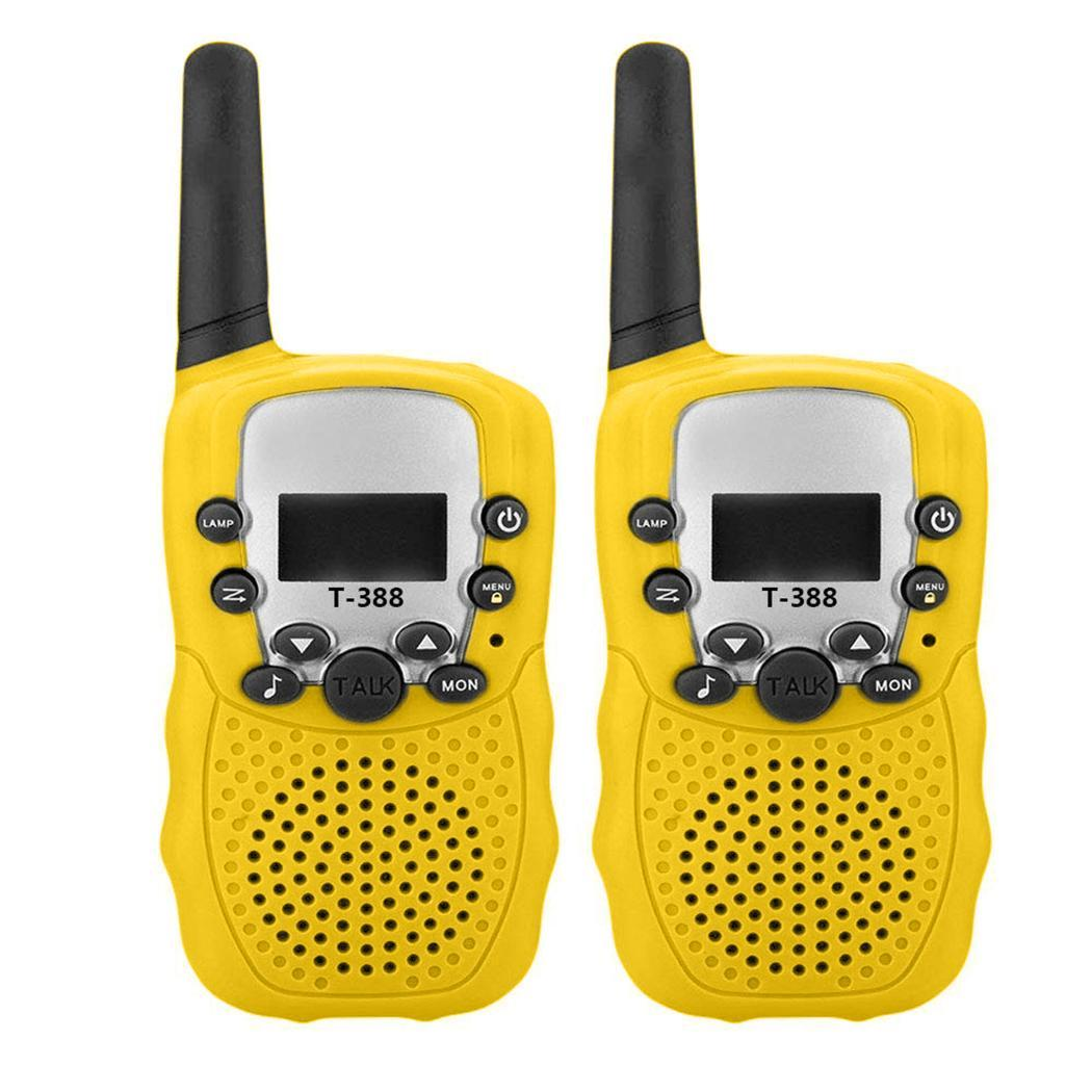 Mini Portable Children Handheld Walkie Talkie Toy 4 X AAA Battery 1W Outdoor Toy 400-470MHz >3 Years Old 8km