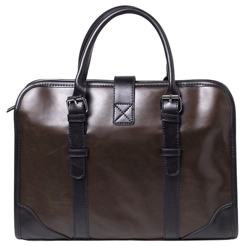 Mens Leather PU Business Handbag Satchel Shoulder Messenger Bag Bag BriefcaseMens Leather PU Business Handbag Satchel Shoulder Messenger Bag Bag Briefcase