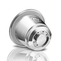 Stainless Steel Reusable Refillable Capsule Cup For Nespresso Coffee Machine