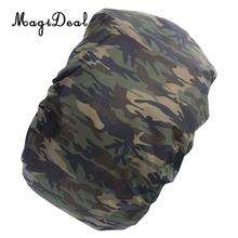 4b43b284c870 MagiDeal Camo Rucksack Backpack Bag Dust Waterproof Rain Cover Poncho Camo6
