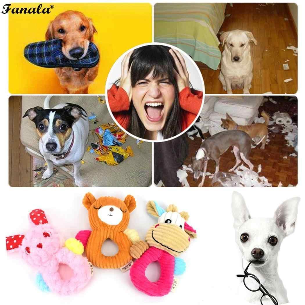 Neue Ungiftig Biss Weiche Zahn Reinigung Multi Haustier Haustiere Übung Spiel IQ Haustiere Ausbildung Kaninchen, Bär, kuh Spielzeug