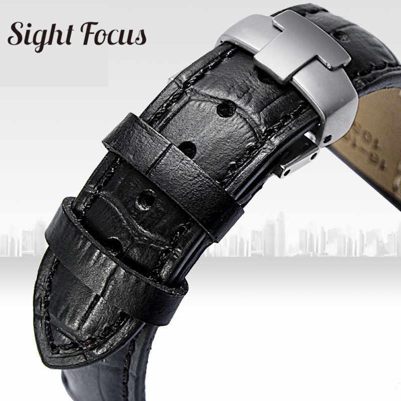 14 Mm 16 Mm Watch Band untuk Tissot 1853 T050 T02 Watch Kulit Tali Wanita Hitam Putih Merah Ungu Wanita pergelangan Tangan Gelang Wanita Sabuk