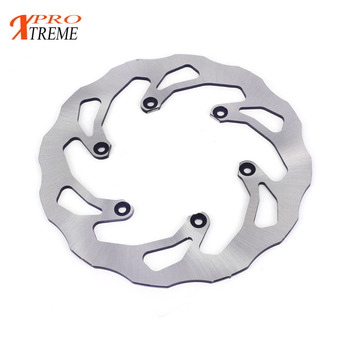 240MM Rear Wavy Brake Disc Rotor For Yamaha WR 125 250 YZ 125 250 WRF 250 426 450 YZF 250 426 450 Motocross Enduro Dirt Bike motorcycle rear brake disc rotor for kmx125 1986 1998 kl250 klx250 stockman 1998 2007 kl klx 250 super sherpa 1997 1998 kmx 125