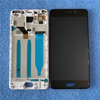 Original For 5.5 Meizu M6 Note Axisinternational LCD Screen Display With Frame And Touch Panel Digitizer For M6 Note Display