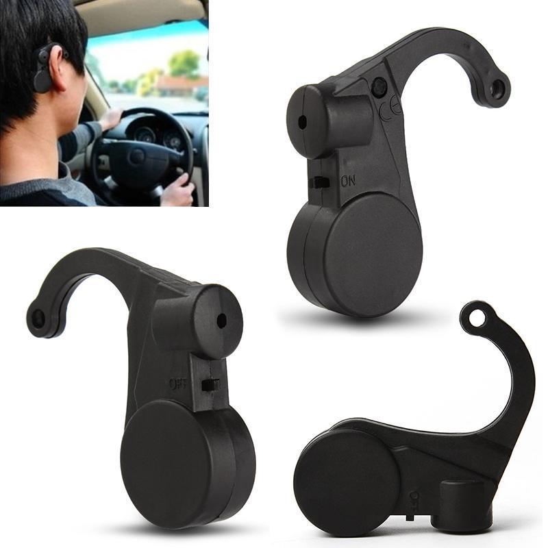 WOOKRAYS Alarm Anti-Sleep Car-Accessories 6x5.5cm-Driver With Black Plastic For Keep-Awake