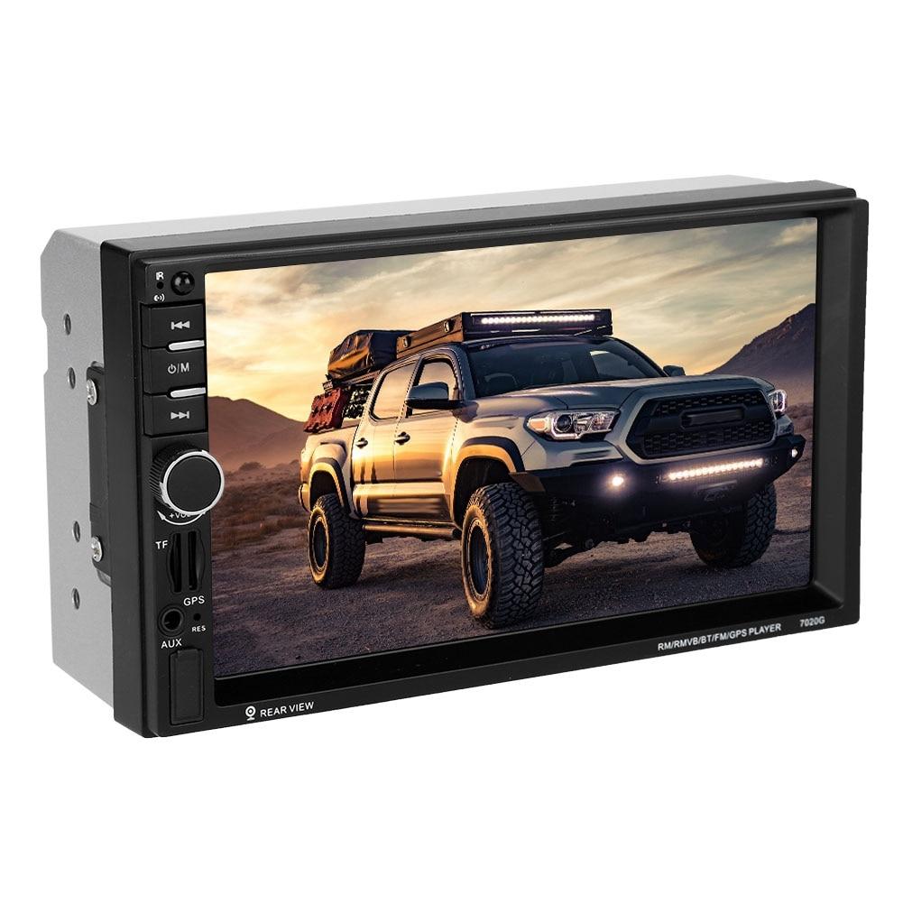 7 Inch Hd Mp5-7020g Auto Bluetooth Mp5 Mp3 Player Mit Radiogps Touch Screen Auto Multimedia Unterstützung Tf-karte Tragbares Audio & Video Unterhaltungselektronik