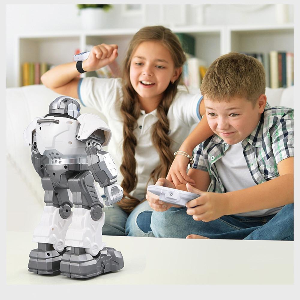 Oyuncaklar ve Hobi Ürünleri'ten Aksiyon ve Oyuncak Figürleri'de JJR/C R5 CADY WILI Akıllı Akıllı Robot Programlanabilir Otomatik Müzik Dans RC Robot Izle Takip Hareket Sensörü RC oyuncaklar Hediye'da  Grup 1
